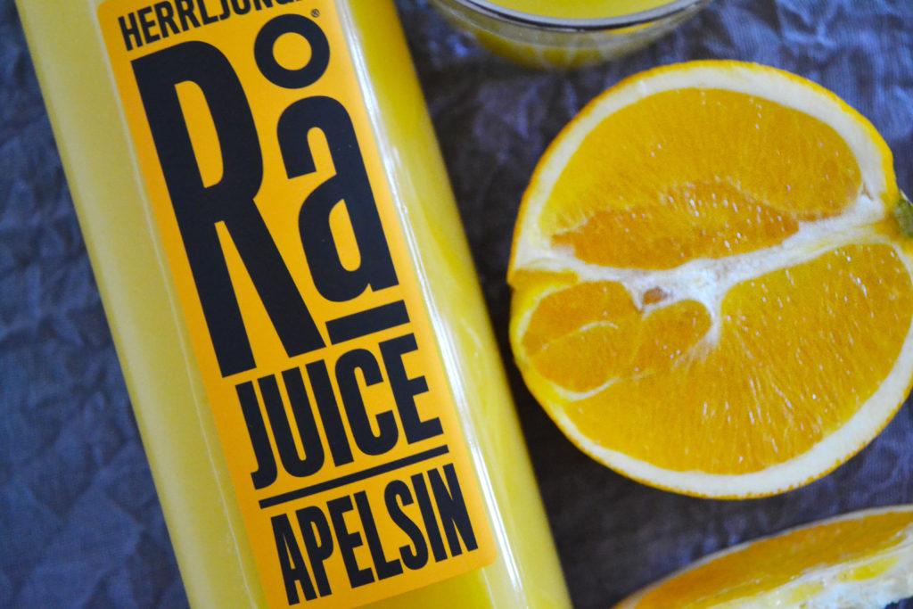 Herrljunga Rå Obehandlad Apelsin Juice