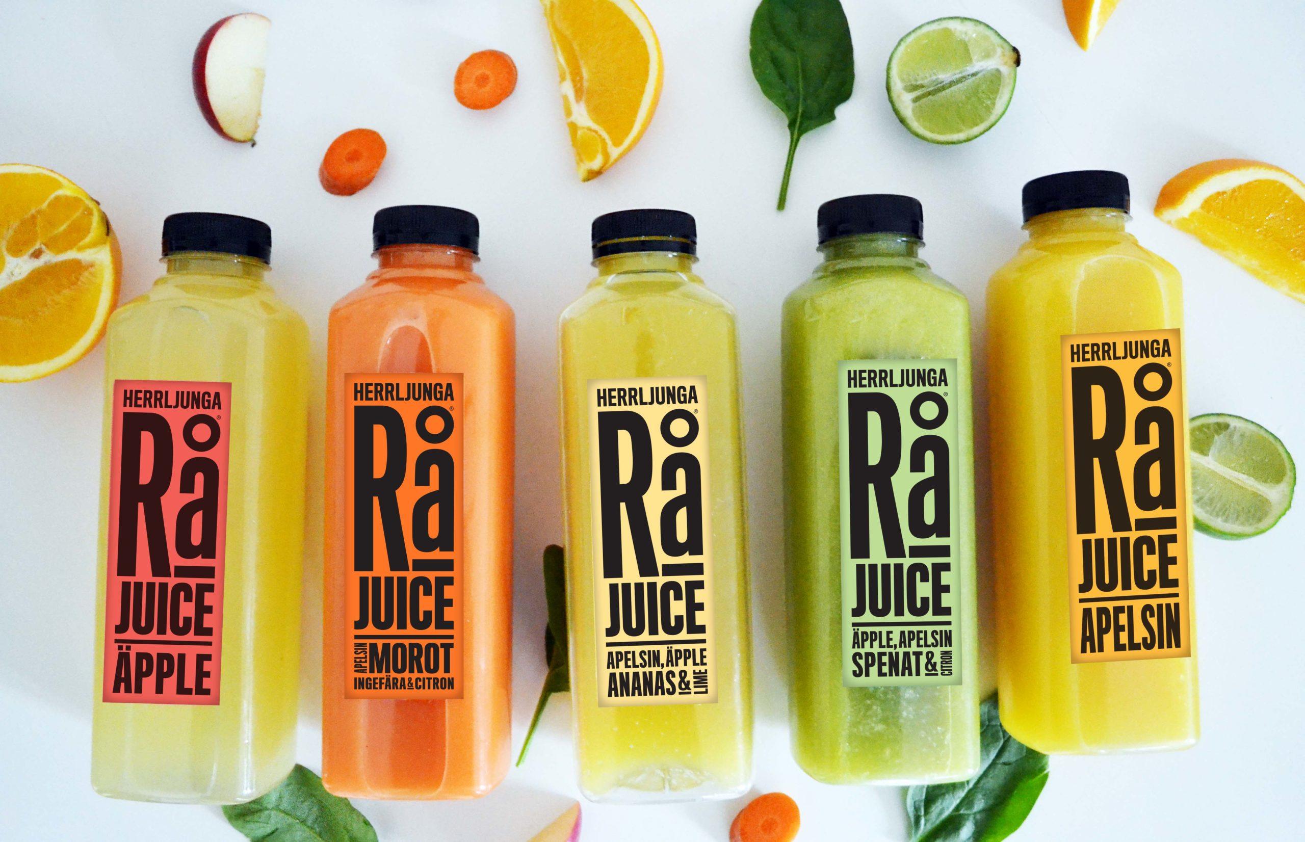 Herrljunga Rå - obehandlad juice