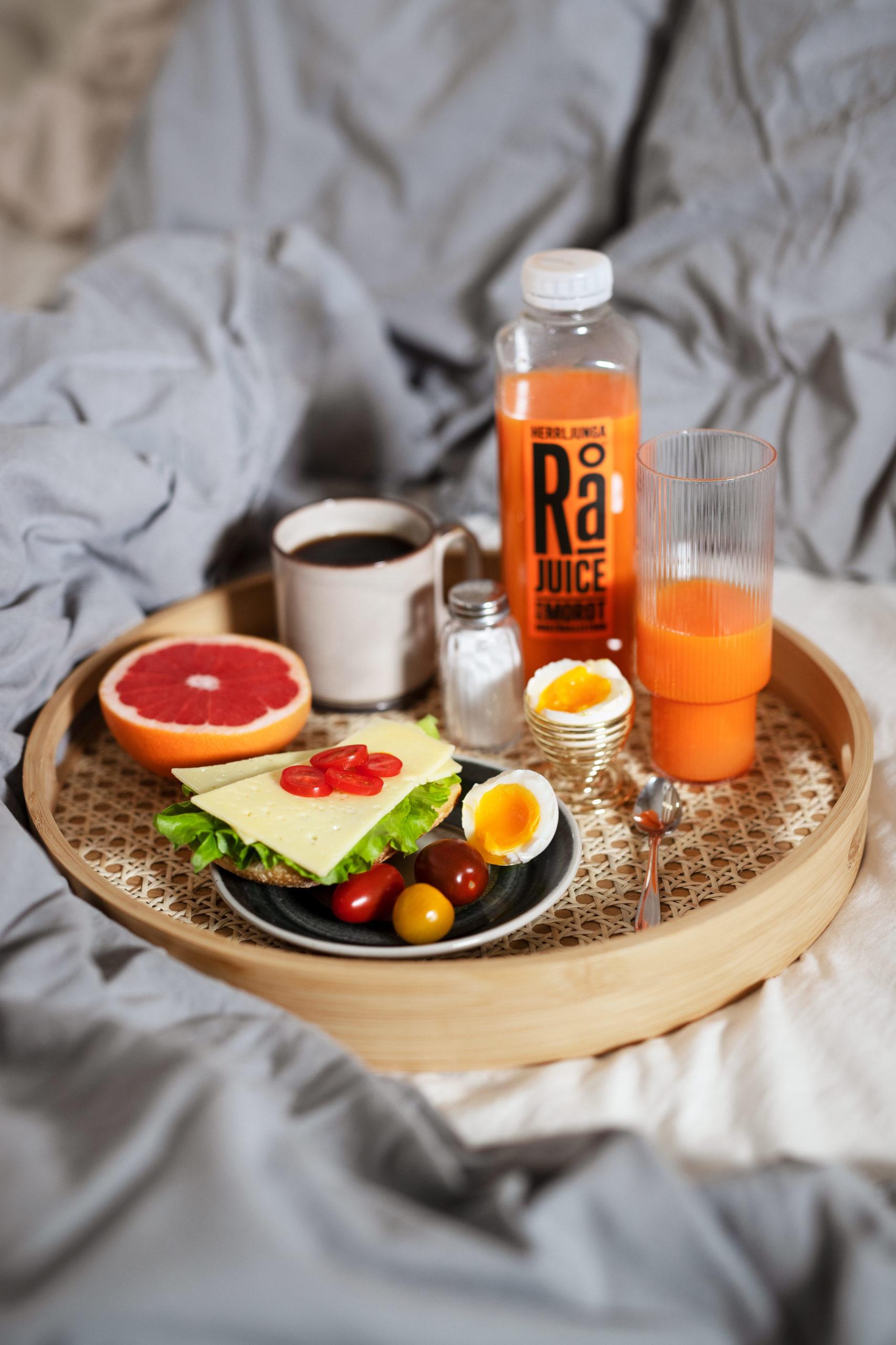 Frukost på sängen - Herrljunga Rå Morot
